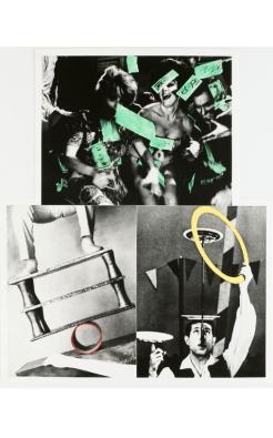 John Baldessari, Life's Balance (With Money), 1989-90