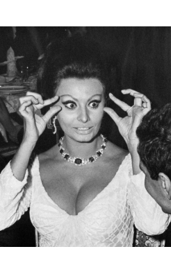 Ron Galella, Sophia Loren