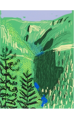 David Hockney, The Yosemite Suite No 21, 2010