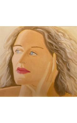 Alex Katz, Alexandra, 1983