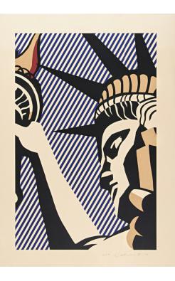 Roy Lichtenstein, I Love Liberty, 1982