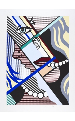 Roy Lichtenstein, Modern Art II, 1996