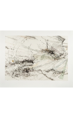 Julie Mehretu, Diffraction, 2005