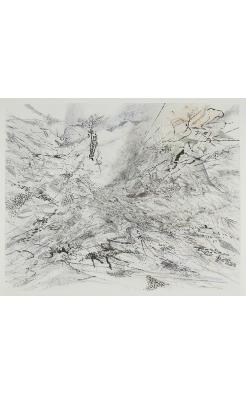 Julie Mehretu, The Residual, 2007