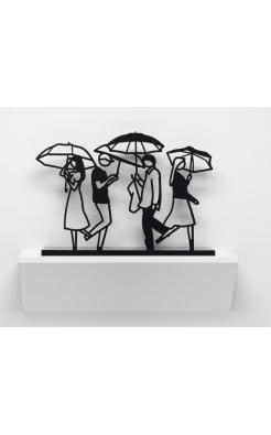 Julian Opie, Summer Rain 1, 2020