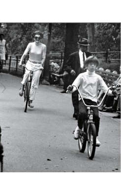 Ron Galella, Jackie Kennedy and John Kennedy, Jr