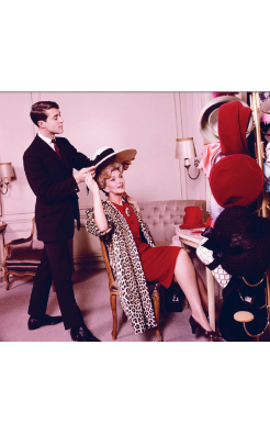 Ormond Gigli, Halston (with Anita Colby) at Bergdorf Goodman, 1962