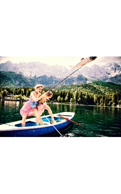 Ellen von Unwerth, The Big Catch, Bavaria, 2015