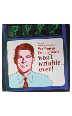 Andy Warhol, Ronald Reagan van Heusen, 1985