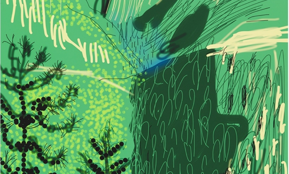 David Hockney, The Yosemite Suite No 21, 2010