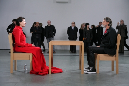 Marina Abramovic, Staring Contest
