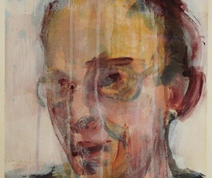 Anselm Keifer, Portrait of a Man's Face