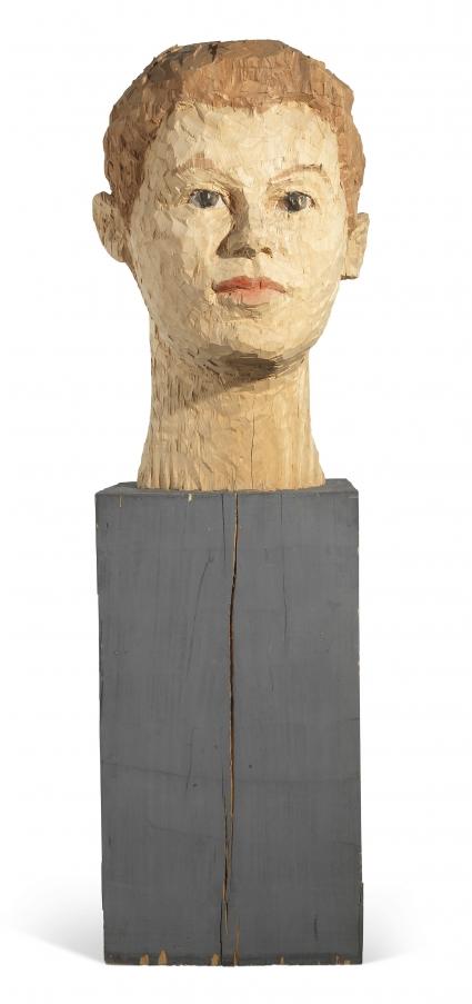 Stephen Balkenhol, Man's Head
