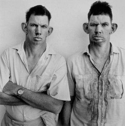 Roger Ballen, Dresie and Casie, Twins, Western Transvaal