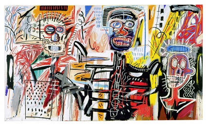 Jean-Michel Basquiat, Three Figures
