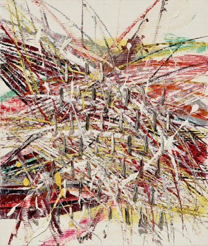 Mark Grotjahn, Untitled Abstract