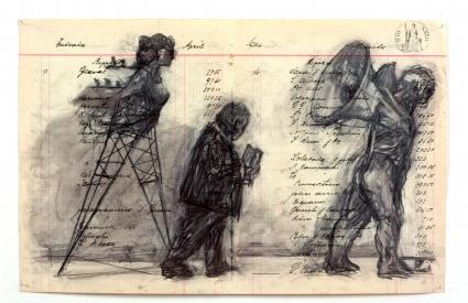 William Kentridge, Zeno Writing