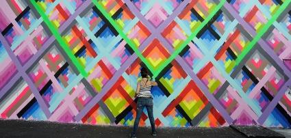 Maya Hayuk, Wynwood Walls, 2013