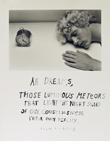 Duane Michals, Dreams