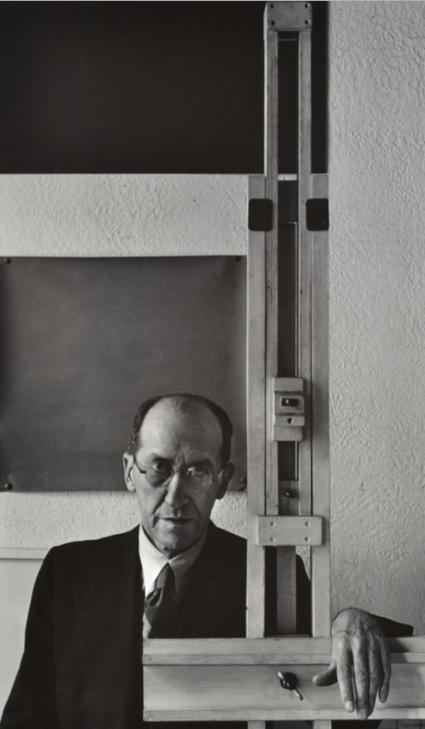 Arnold Newman, Mondrian