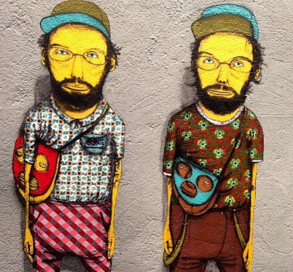 Os Gemeos, Graffiti Portrait