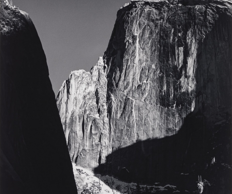 Ansel Adams, Moon and Half Dome, Yosemite