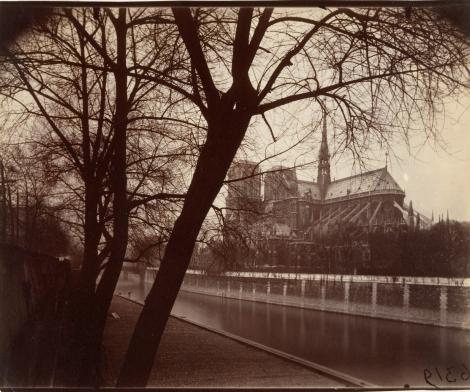 Eugène Atget, Notre Dame, 1922
