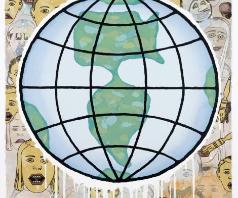Donald Baechler, Globe