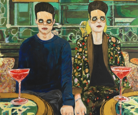 Hernan Bas, Red Cocktails