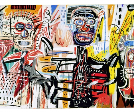 Jean-Michel Basquiat, Three Figures
