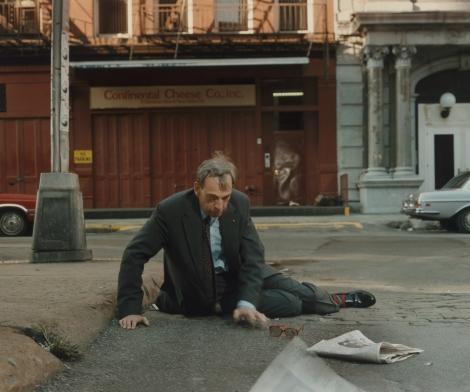 Philip-Lorca di Corcia, Mann Fallen