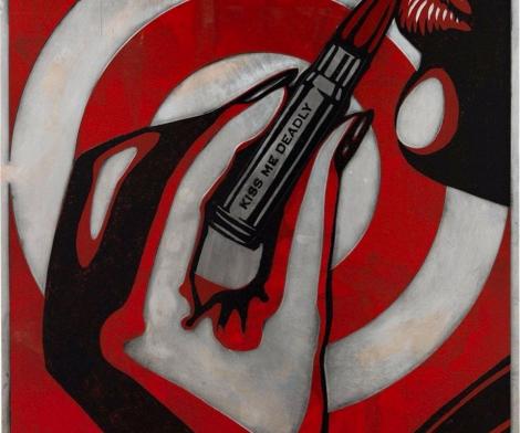 Shepard Fairey, Kiss Me Deadly, 2012