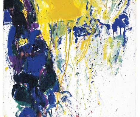 Sam Francis, Blue Yellow Green