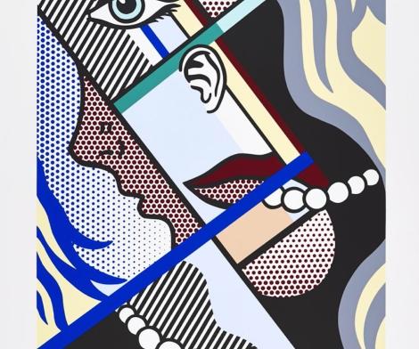 Roy Lichtenstein, Modern Art II, 1996