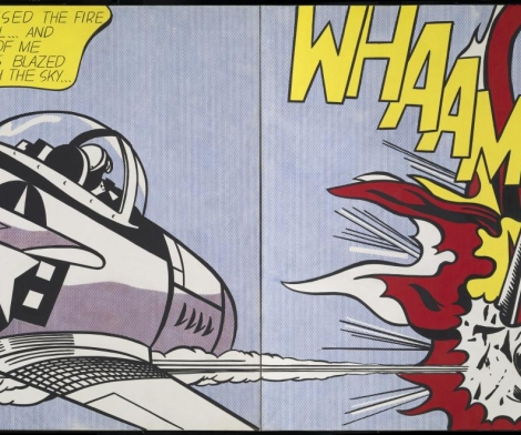 Roy Lichtenstein, Whaam