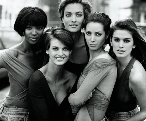 Peter Lindbergh, Five Models