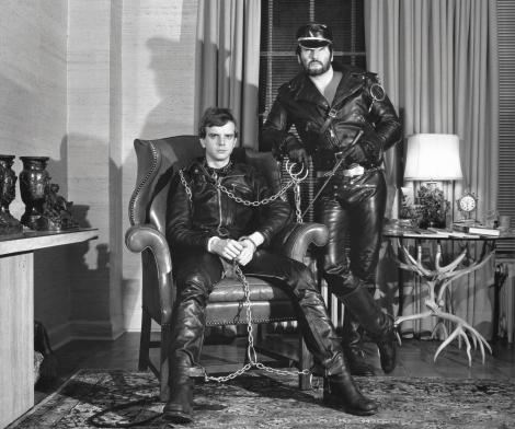 Robert Mapplethorpe, Leather Chains