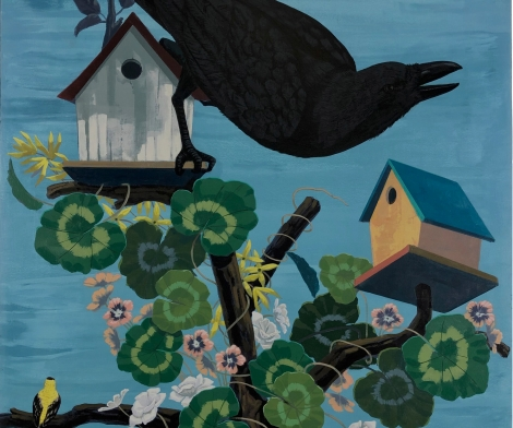 Kerry James Marshall, Black Birds Take Flight