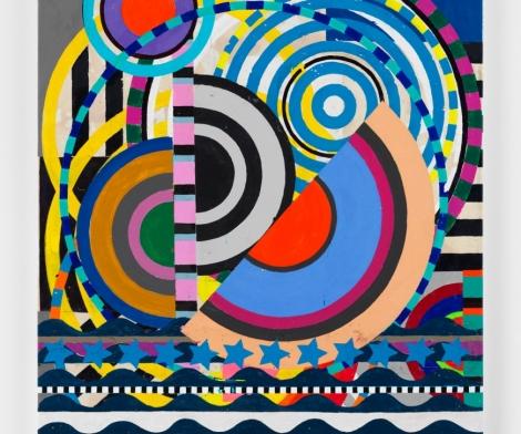 Beatriz Milhazes, Colourful Circlesa
