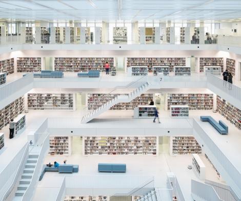 Reinhard Corner, Library