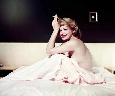 Ormond Gigli, Hildegard Knef Smoking in Bed