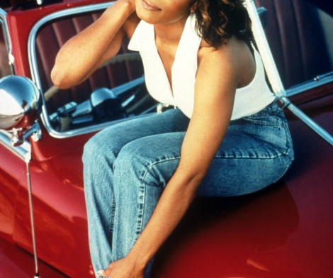 Mark Seliger, Janet Jackson on Red Car