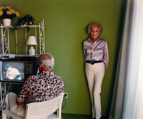 Larry Sultan, My Mother Posing