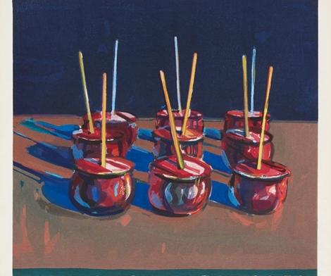 Wayne Thiebaud, Jelly Apples