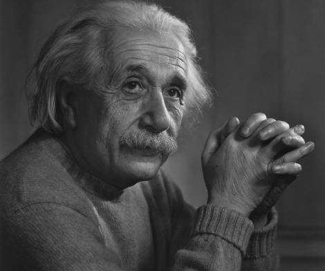 Yousuf Karsh, Albert Einstein, 1948