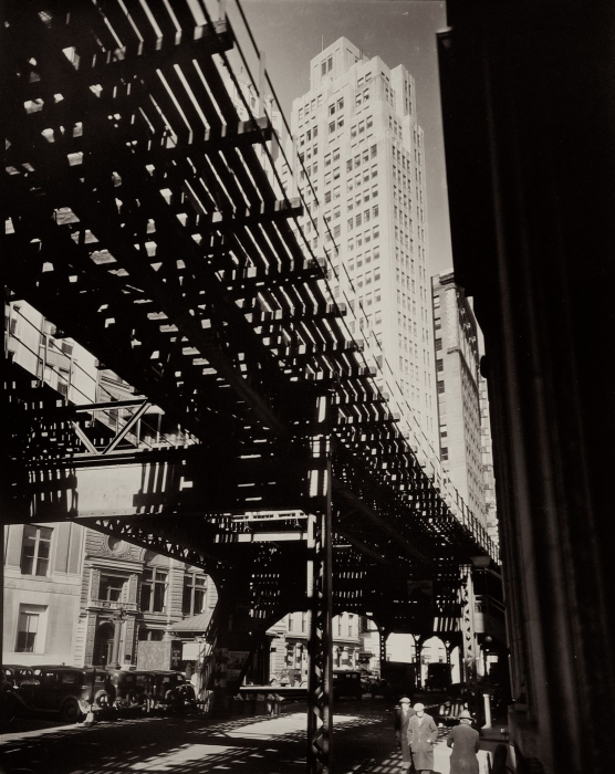 Berenice Abbott, Elevated Train Track
