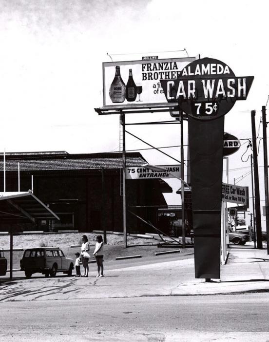 Robert Adams, Alameda Car Wash