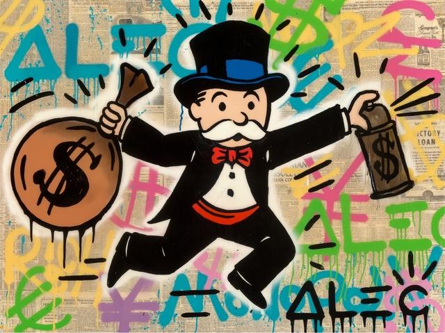 Alec Monopoly, Monopoly Money Tag, 2015