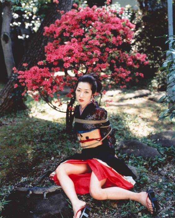 Nobuyoshi Araki, Flower Yamorinski and Bondage, 2006