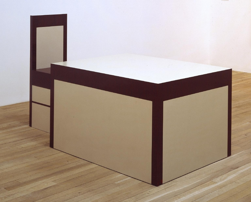 Richard Artschwager, Table and Chair
